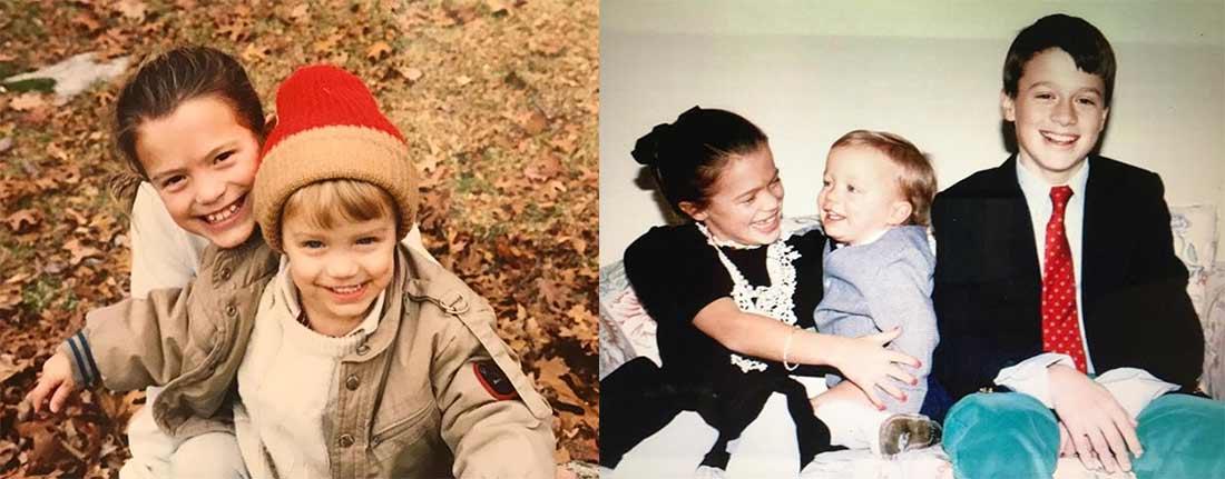 Melissa Claire Egan siblings photo