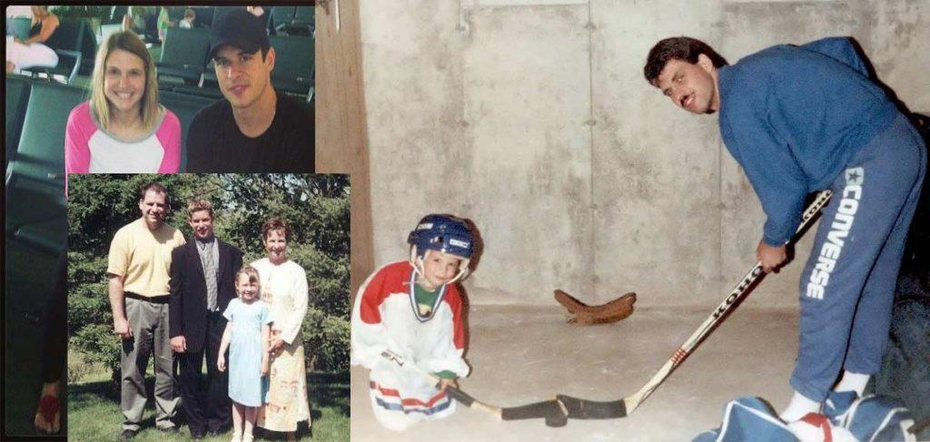 Sidney Crosby family photo