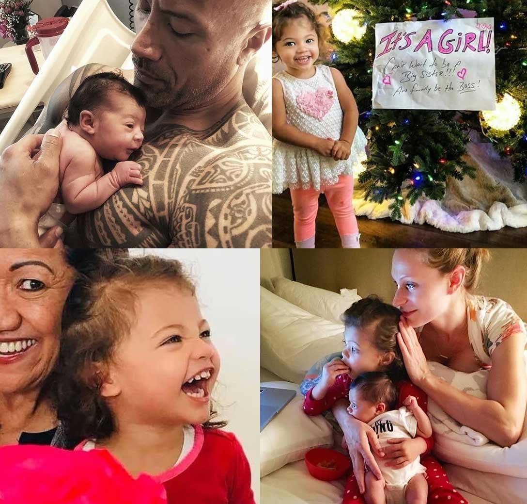 Tiana Gia Johnson (daughter with Lauren Hashian)
