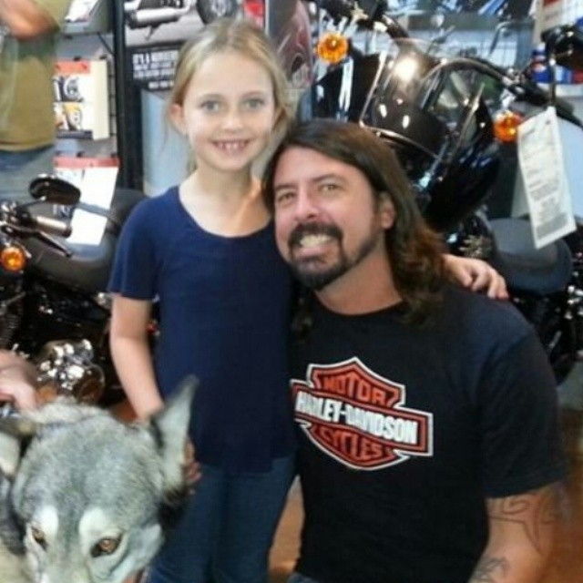 Violet Maye Grohl daughter