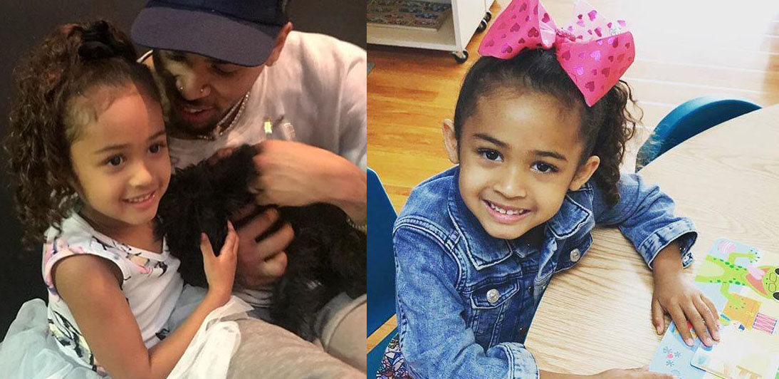 chris brown baby Royalty Brown daughter
