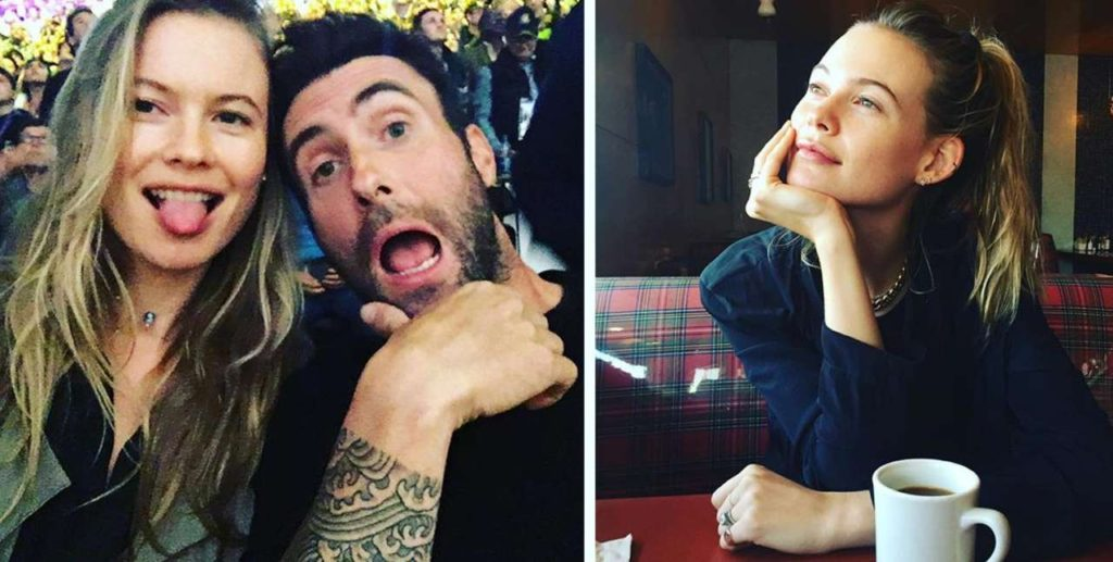 Adam Levine wife