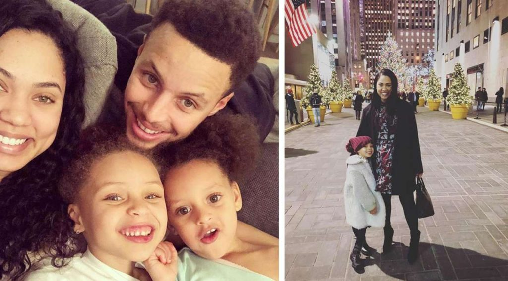 Ayesha Alexander Curry family