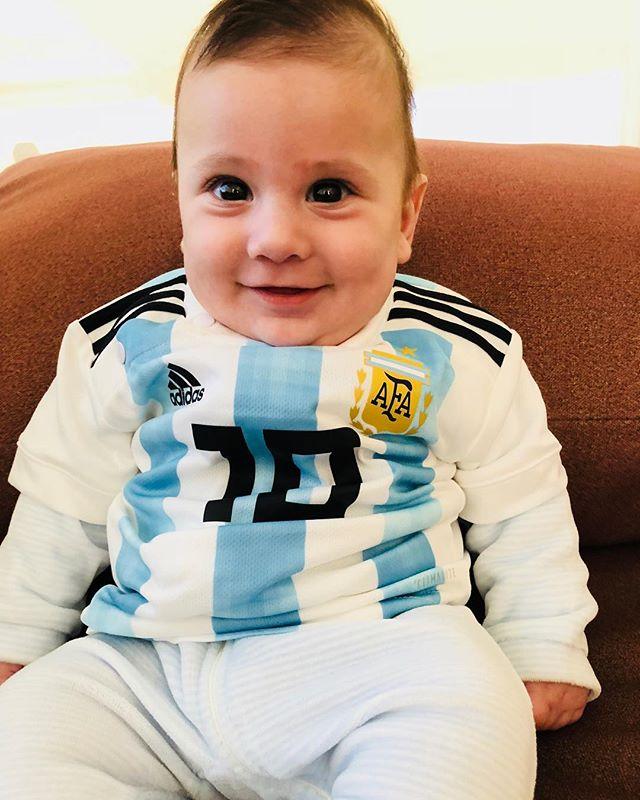 Ciro Messi (son with Antonella Roccuzzo)