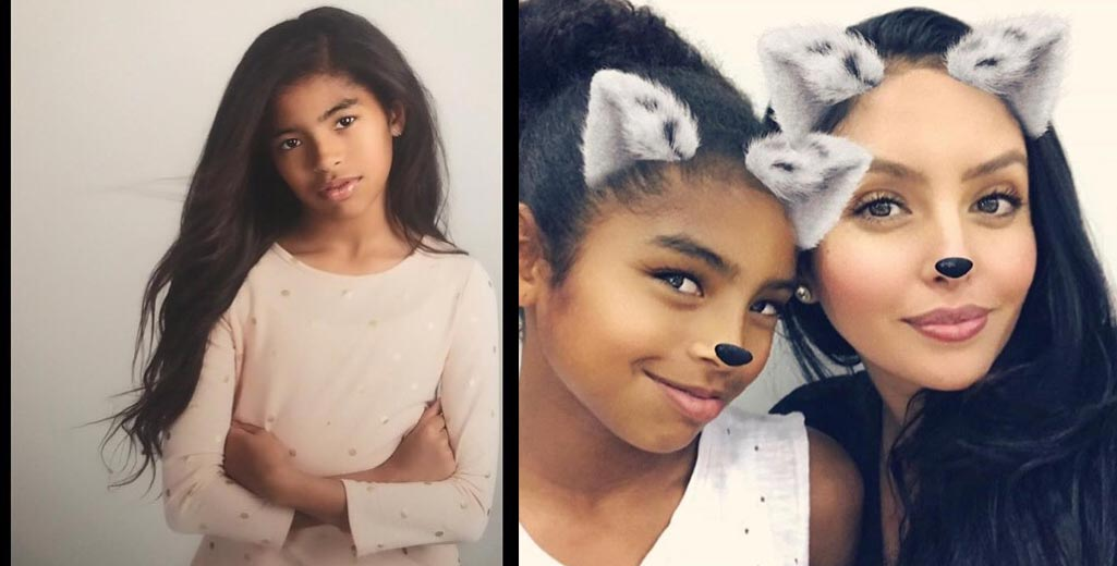Gianna Maria-Onore Bryant (daughter with Vanessa Laine)
