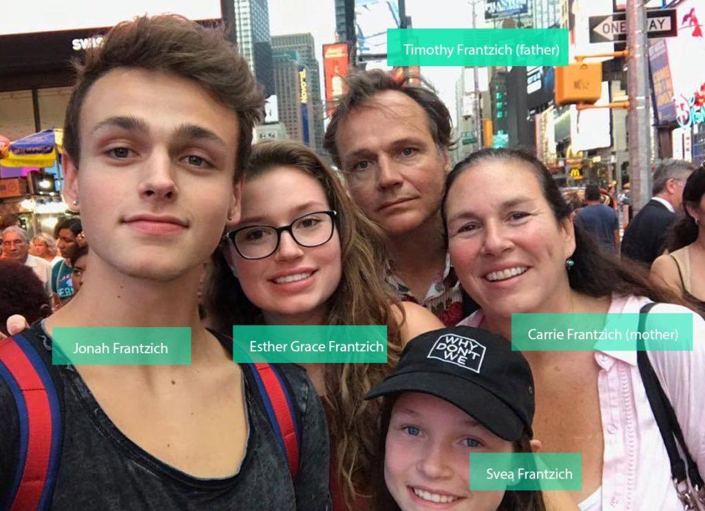Jonah Marais family members