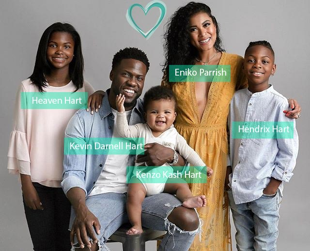 Kevin Hart family members