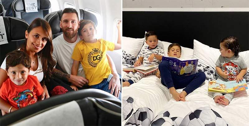 Lionel Messi kids