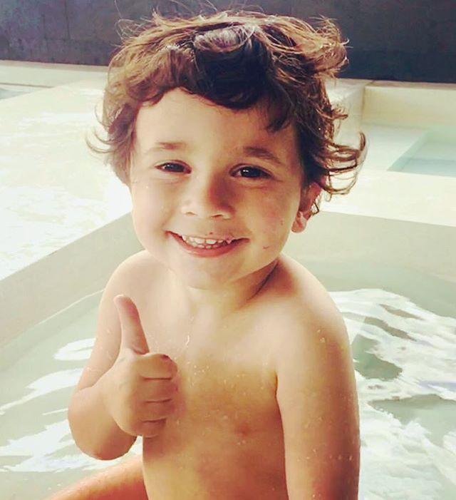 Mateo Messi (son with Antonella Roccuzzo)
