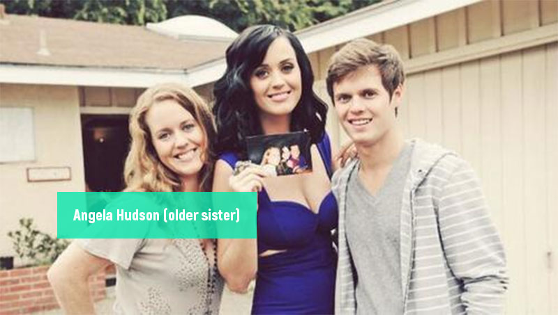Angela Hudson Katy Perry siblings