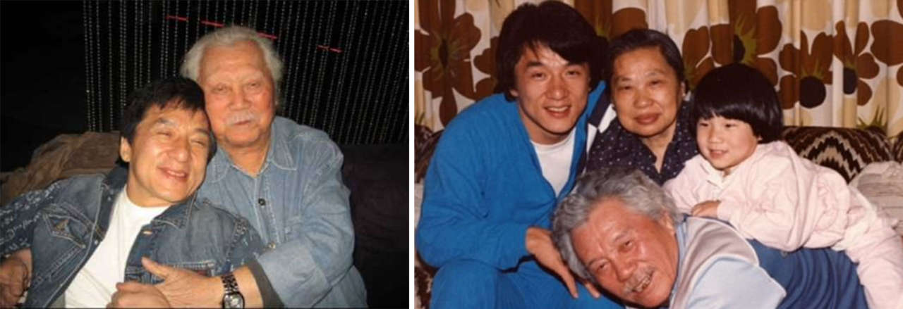 Jackie Chan parents father
