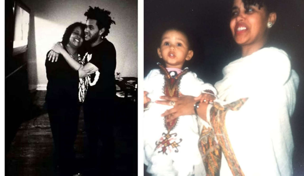 The Weeknd parents