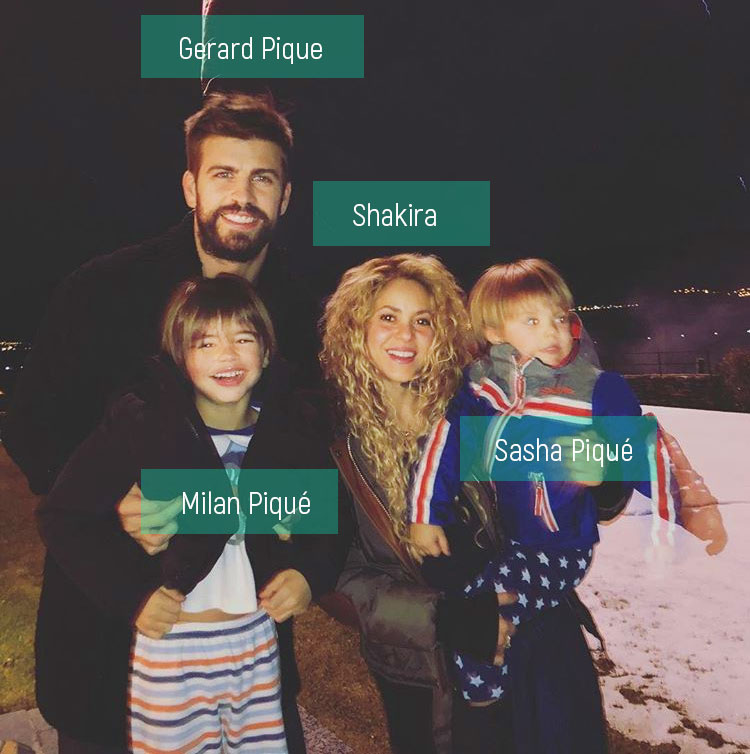 Shakira family members