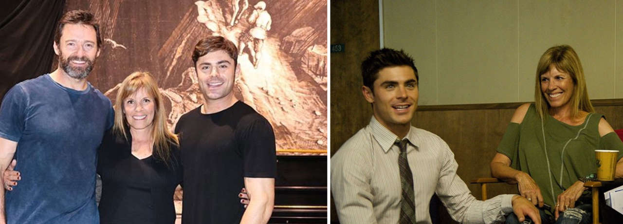mother Zac Efron