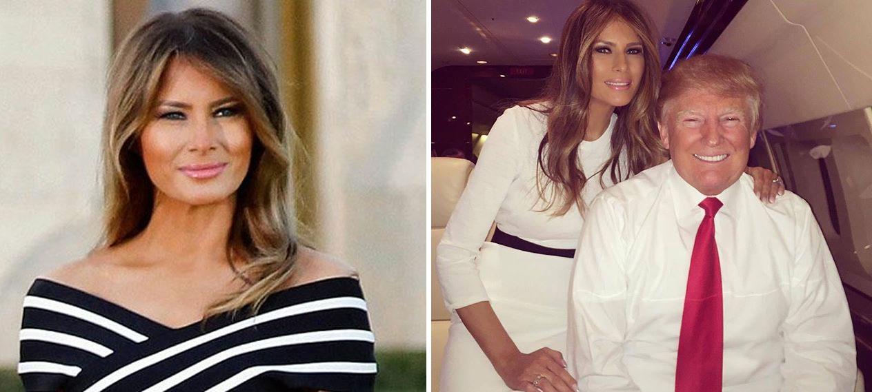 Melania Trump mother barron trump