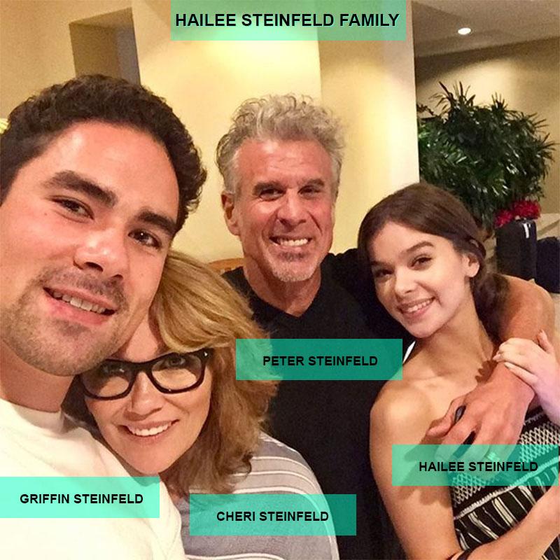 Hailee Steinfeld family members