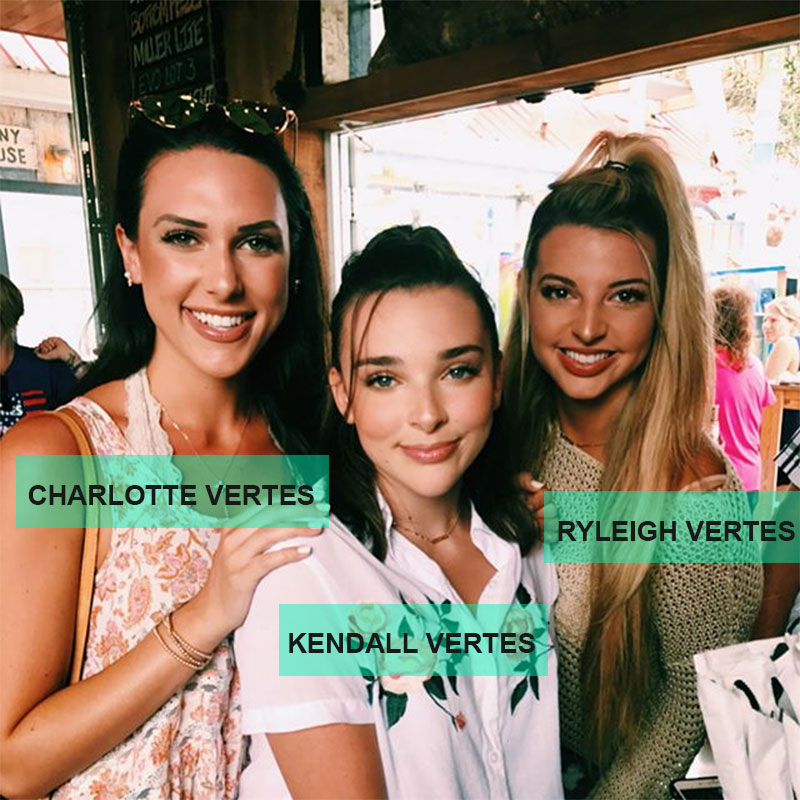 Kendall Vertes sister photo
