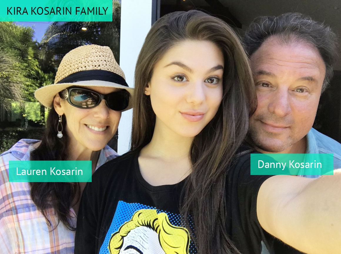 Kira Kosarin family members