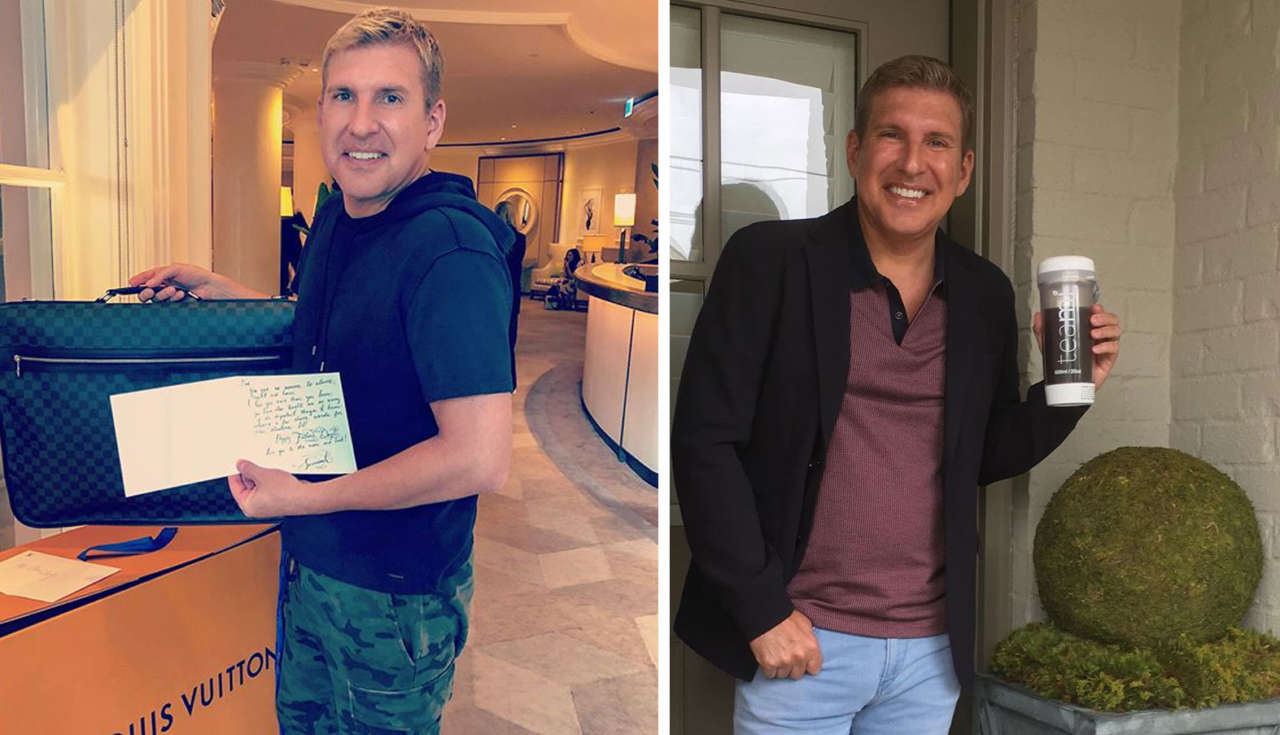 Todd Chrisley father Savannah Chrisley