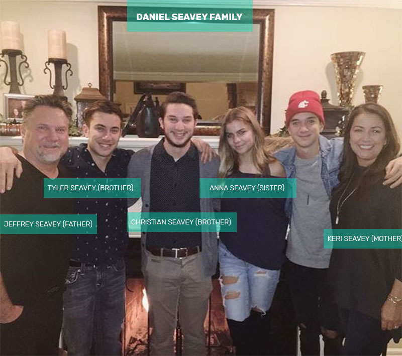 Daniel Seavey family members
