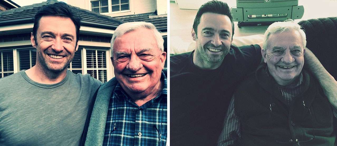 Hugh Jackman father Chris Jackman