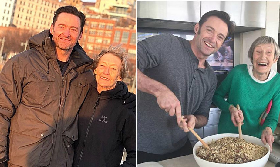 Hugh Jackman mother