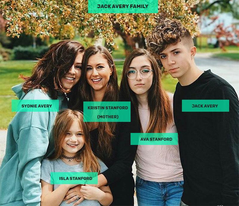 Jack Avery family
