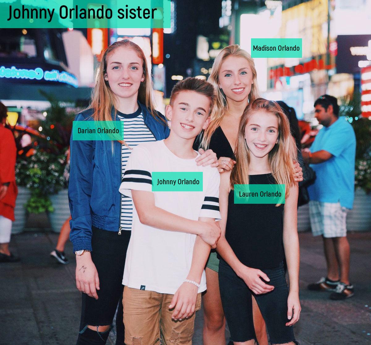 Johnny Orlando sister