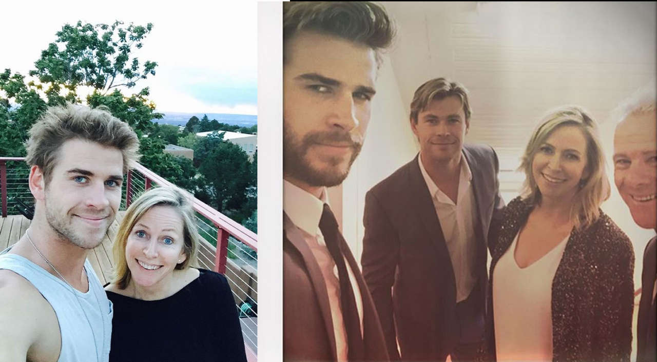 Liam Hemsworth mother-Leonie Hemsworth