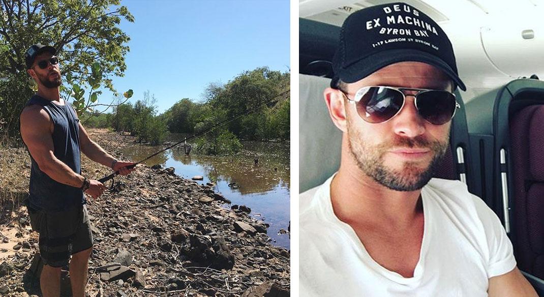 Liam Hemsworth siblings brother Chris Hemsworth