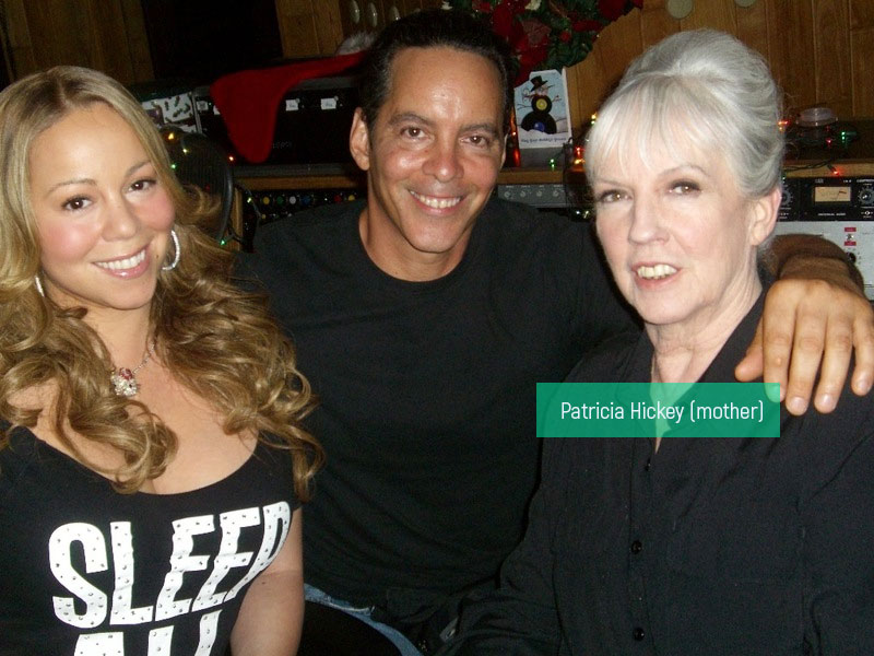 Patricia Hickey mother Mariah Carey