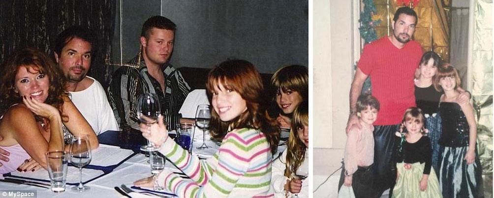 Rey Thorne father Bella Thorne