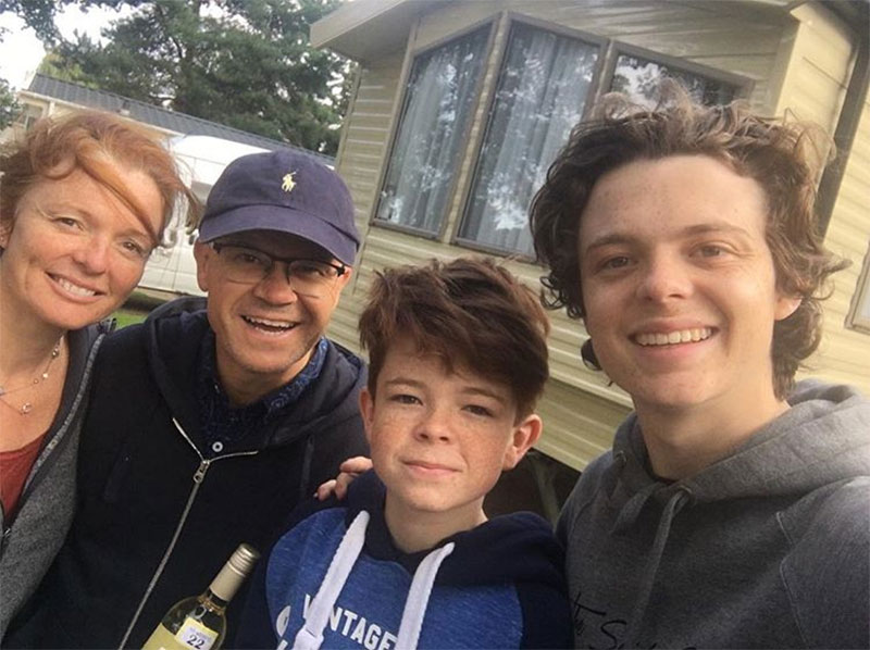 Tom Holland family members