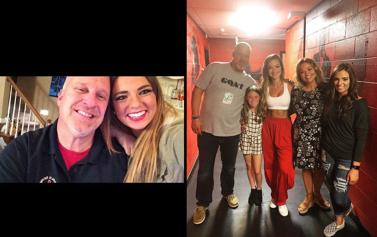 Erika Costell parents