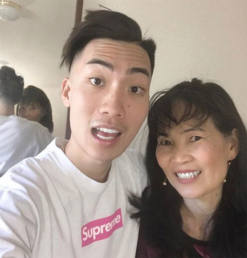 Quang Ly Lely mother RiceGum