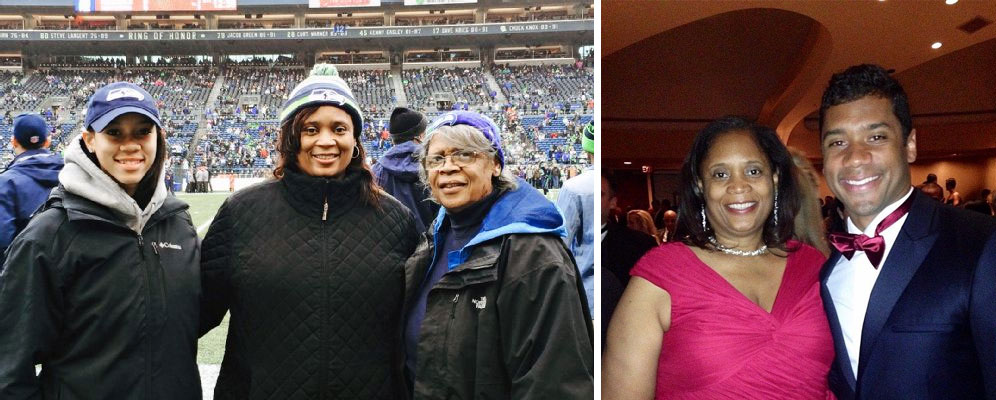 Russell Wilson mother