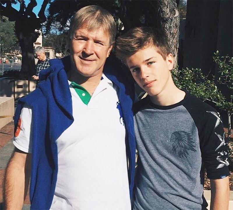 Alex Lange father