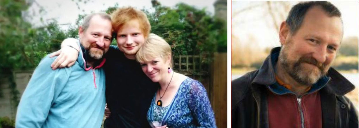 Ed Sheeran father parents