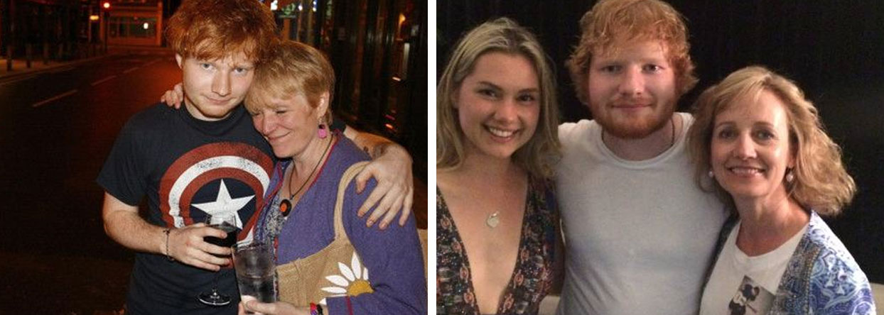 Ed Sheeran mother Imogen Sheeran