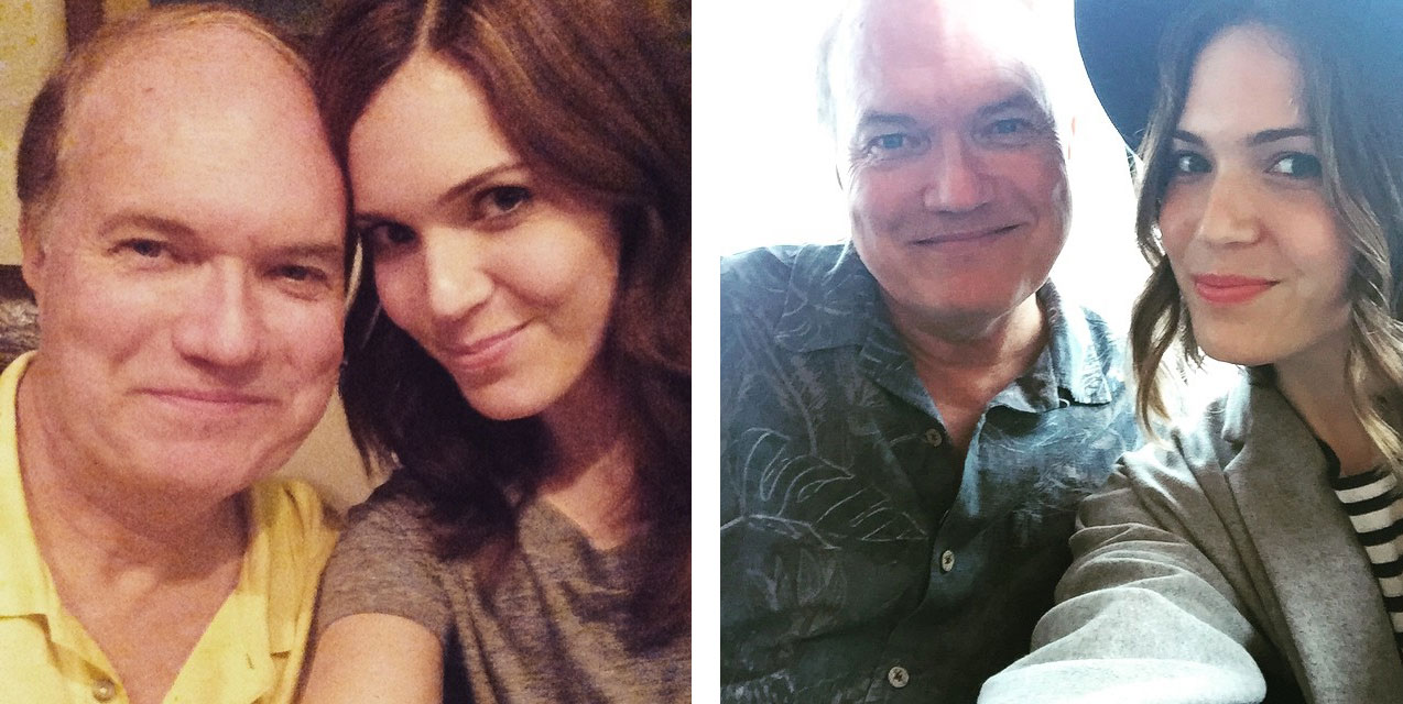 Mandy Moore father