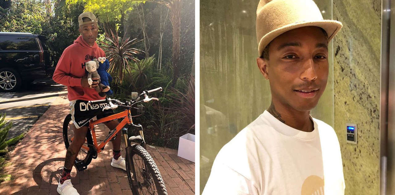 Pharrell Williams Interesting and fun facts