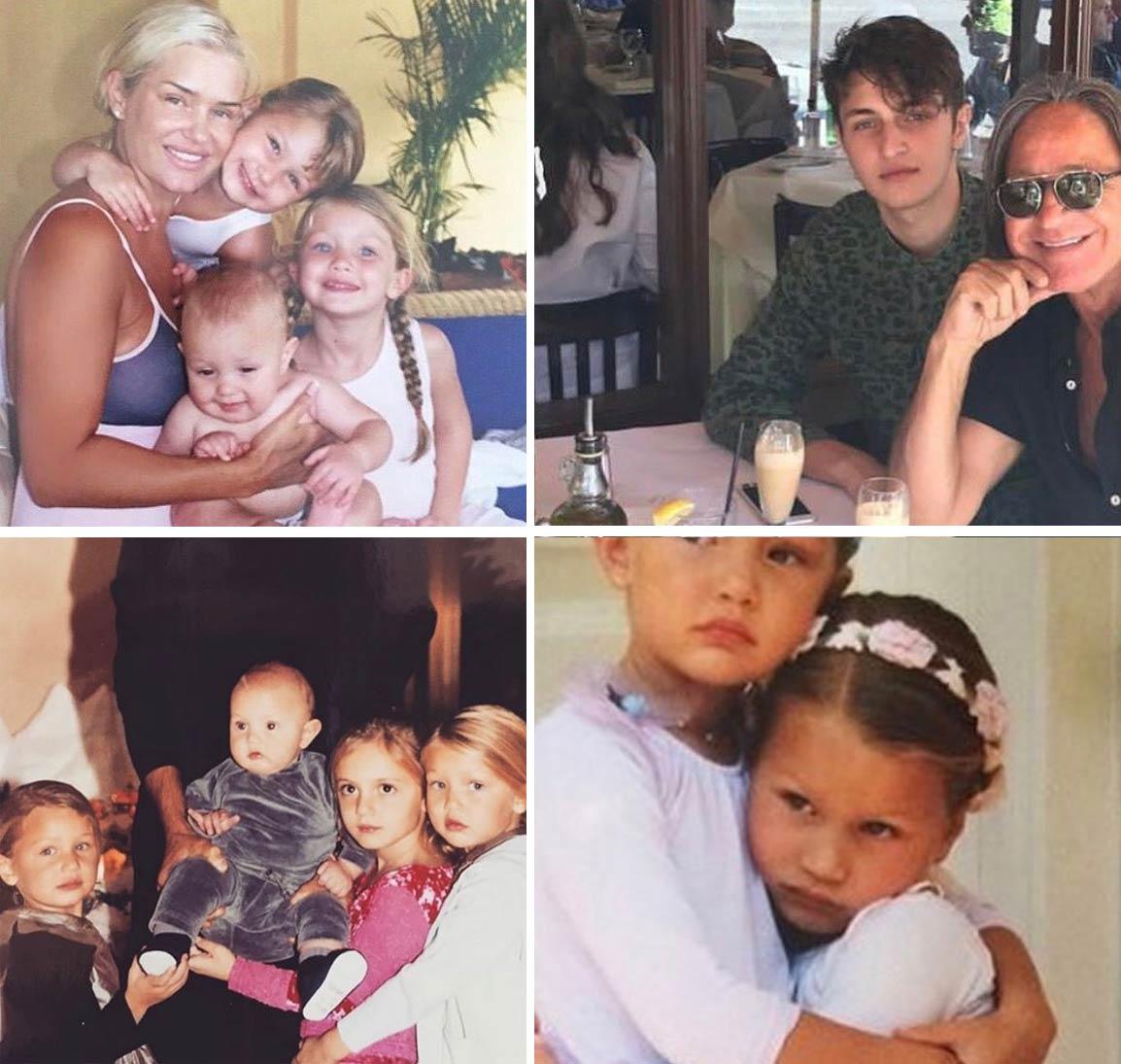 Anwar Hadid family