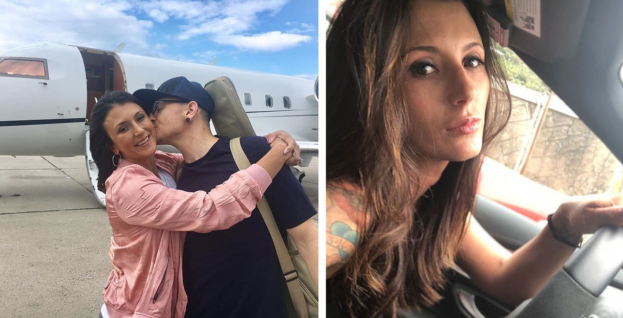 Chester Bennington wife photo