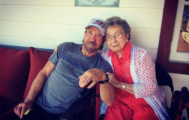 Chuck Norris mother