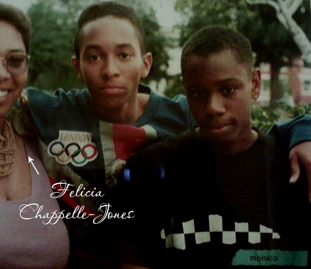 Felicia Chappelle-Jones older sister Dave