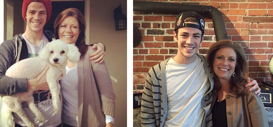 Grant Gustin mother