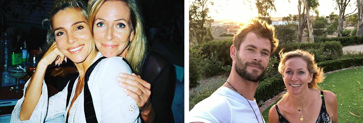 Chris Hemsworth mother