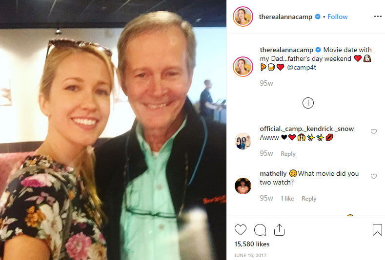Anna Camp father
