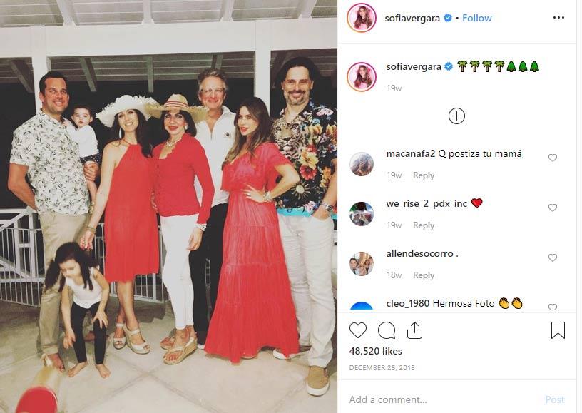 Sofia Vergara family