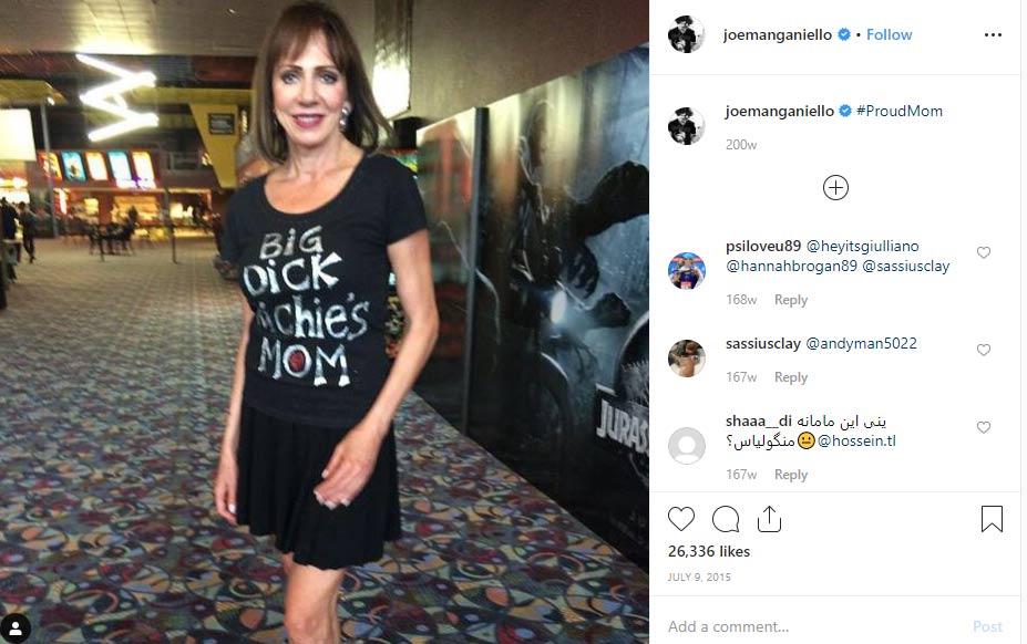 Susan Manganiello-Brachanow mother Joe Manganiello